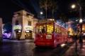 Картинка ночь, город, United States, California, Anaheim