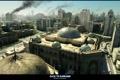 Картинка город, пожар, война, мечеть, war, Battlefield 3, Mashtuur city