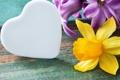 Картинка цветы, сердце, весна