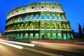 Картинка город, колизей, италия, рим