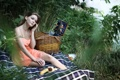 Картинка девушка, настроение, озеро