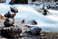 Картинка вода, природа, камни, поток