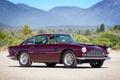 Картинка деревья, горы, Aston Martin, классика, раритет, 1958, DB4