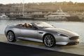 Картинка фон, Aston Martin, яхты, DB9, кабриолет, набережная, передок