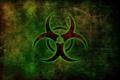 Картинка знак, свечение, bio-hazard