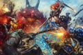 Картинка starcraft, Sonya, diablo, warcraft, Heroes of the Storm, Brightwing, Azmodan