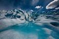 Картинка вода, природа, ледник, лет