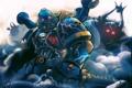 Картинка armor, art, Warhammer 40K, Night Lords