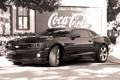 Картинка coca cola, black, camaro, chevrolet