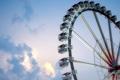 Картинка небо, колесо, атракцион