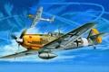 Картинка небо, авиация, самолет, истребитель, арт, Messerschmitt Bf-109E 7