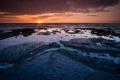 Картинка закат, океан, Гавайи, ocean, Hawaii, sunset, © Ben Torode