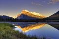 Картинка горы, отражение, вода, озеро