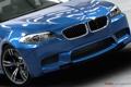 Картинка car, синий, фары, BMW, Forza Motorsport 4