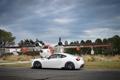 Картинка спорткар, белая, субару, авто, subaru brz, car, профиль