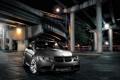 Картинка Авто, Мост, Ночь, BMW, Тюнинг, Машины, Tuning