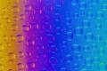 Картинка пузырьки, свет, стекло, радуга, цвет