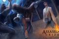 Картинка жертва, вечер, арт, assassins creed, клинки, ассасин