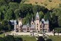 Картинка замок, город, Германия, Drachenburg, фото