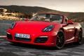 Картинка Порше, Porsche, передок, Boxster S, суперкар, фон, Бокстер