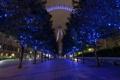 Картинка ночь, улица, Лондон
