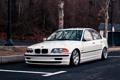 Картинка бмв, BMW, белая, white, E46, 3 серия, 325
