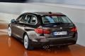 Картинка бмв, BMW, в движении, задок, универсал, xDrive, Touring