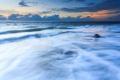 Картинка море, волны, облака, тучи, природа, камни