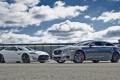 Картинка небо, купе, Jaguar, седан, передок, XKR-S, XJR