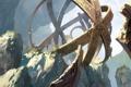 Картинка горы, металл, сооружение, арт, обсерватория, гигантское, Tuomas Korpi