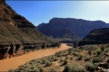 Картинка каньон, река, пустыня