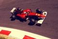 Картинка трасса, формула 1, Ferrari, пилот, феррари, formula 1, гонщик