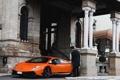 Картинка оранжевая, Superleggera, Lamborghini galardo
