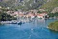 Картинка яхты, Хорватия, Croatia, река Крка, Skradin, Krka river, Скрадин