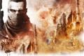 Картинка песок, город, оружие, человек, солдат, Spec Ops The Line
