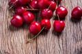 Картинка вишня, fresh, wood, sweet, berries, ягоды, cherry