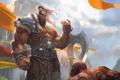 Картинка WoW, Warcraft, орк, world of warcraft, warlords of draenor, Grommash Hellscream