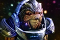 Картинка фантастика, игра, миры, Mass Effect 3, Кроган, Грюнт
