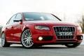 Картинка Audi, Небо, Фото, Авто, Дорога, Ауди, Красная