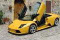 Картинка Lamborghini murcielago, Жёлтая, Ламба, Ламборджини.