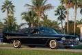 Картинка небо, пальмы, классика, передок, красивая машина, Convertible, 1959