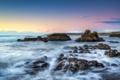 Картинка пляж, океан, скалы, горизонт