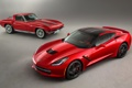Картинка красный, Corvette, Chevrolet, Шевроле, передок, Stingray, Корвет