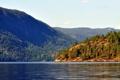 Картинка лес, горы, озеро, Норвегия, Kilen