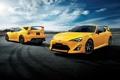 Картинка Toyota, тойота, 2015, Yellow Limited Aero Package, 86 GT