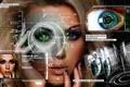 Картинка глаза, взгляд, девушка, лицо, будущее, face, технологи