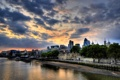 Картинка закат, Англия, Лондон, sunset, London, England