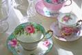 Картинка чашки, macro, teacups in sunlight