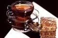 Картинка стекло, отражение, стол, сладость, соты, мед, чаепитие