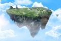 Картинка остров, в воздухе, freedom